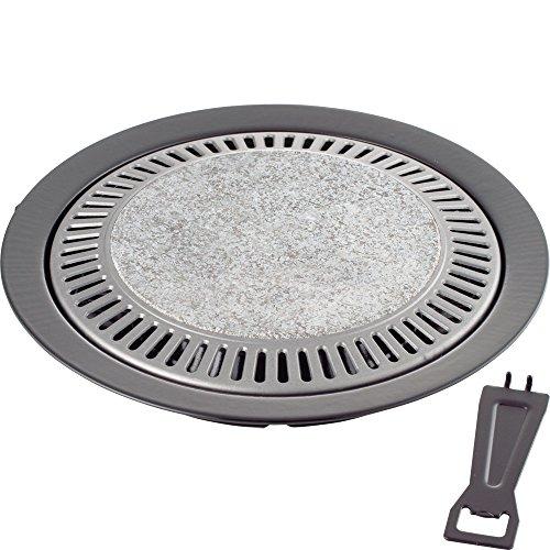 和平フレイズ 味覚探訪 天然石焼肉プレート33cm MR-7387 0861am