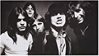 ACDC - Black & White Mini Poster - 26x38cm