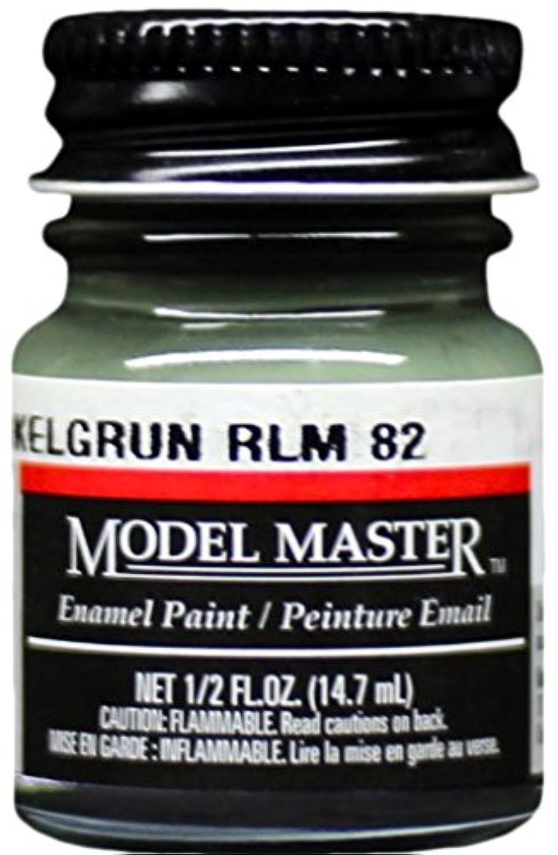 モデルマスターTestors Dunkelgrun RLM 82エナメルペイント0.5オンスボトル# 2091
