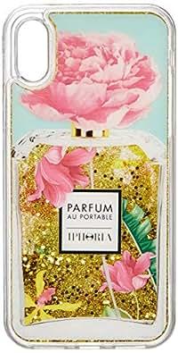 [アイフォリア]iPhone X対応 Perfume Rose Ornaments for iPhone X ピンク