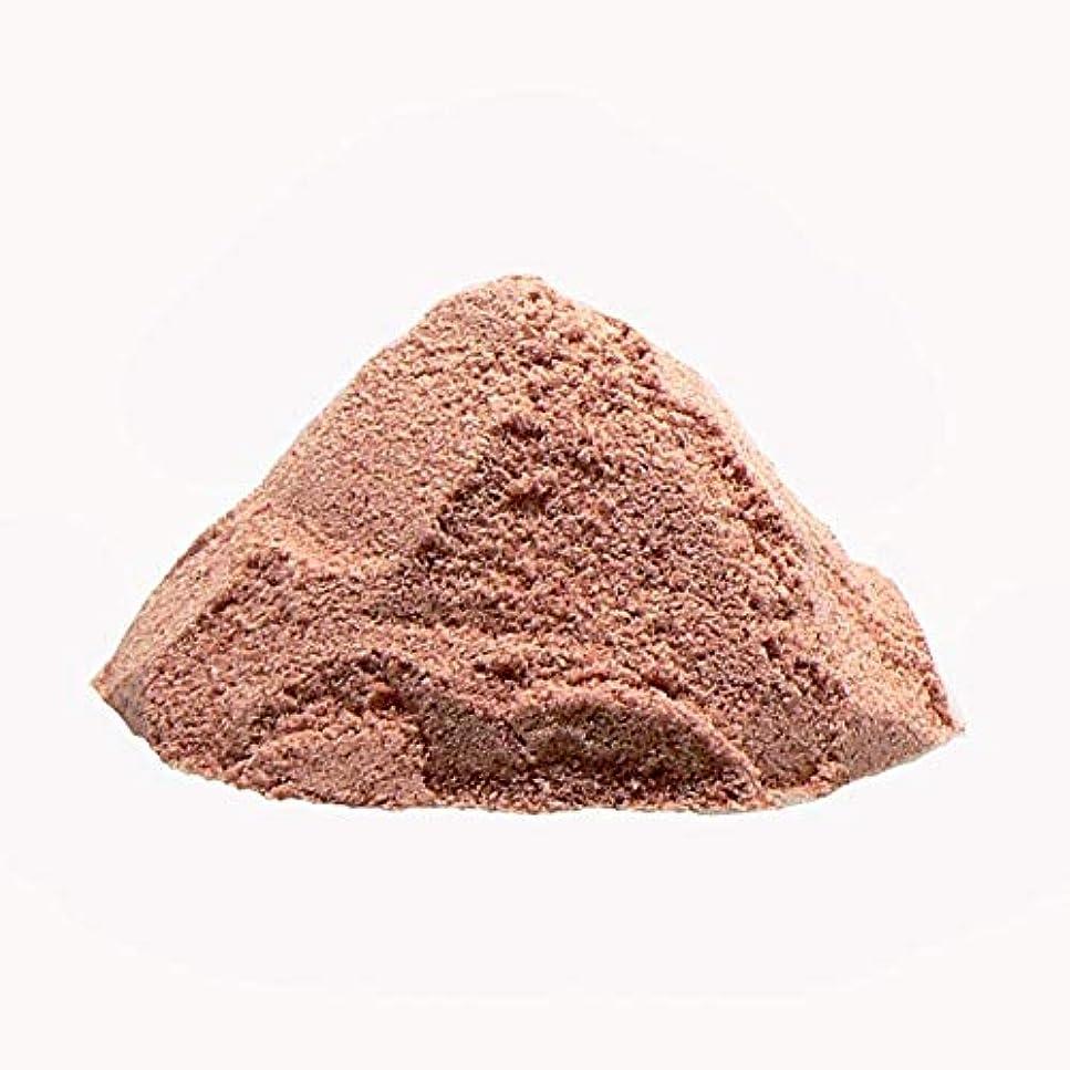 最大限彫刻デッキヒマラヤ岩塩 プレミアム ルビーソルト バスソルト(パウダー)ネパール産 ルビー岩塩 (600g×2個セット)