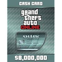 Grand Theft Auto Online: Megalodon Shark Cash Card (GTAマネー $8,000,000) 【Windows版】 [オンラインコード]
