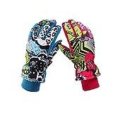 VERTAST 子供 4-12歳 防風冬暖かい手袋防水雪スキー サイクル 5本指 手袋