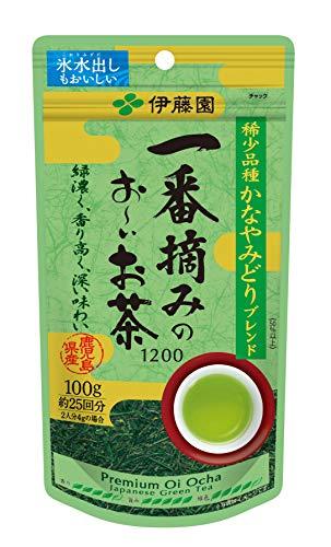 伊藤園 一番摘みのお~いお茶 1200 1袋(100g)