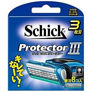 シック Schick プロテクタースリー 3枚刃 替刃 (8コ入)