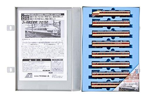 Nゲージ A0127 国鉄151系・クロ150-3 特急「はと」基本8両セット