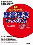 日本一わかりやすい経営理念のつくり方 (中経出版)