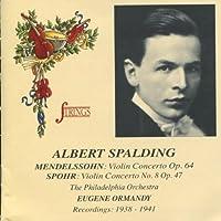 Violin Cto Op 64 / Violin Cto 8 Op 47 / 1938-1941