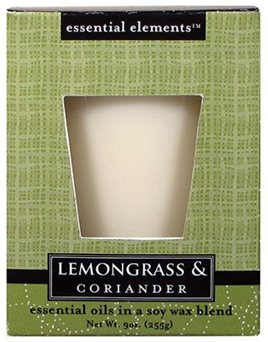 折タイトル外向きCandle Lite 1540350 Scented Candle、レモングラス&コリアンダー、255。Jar 3 1540350