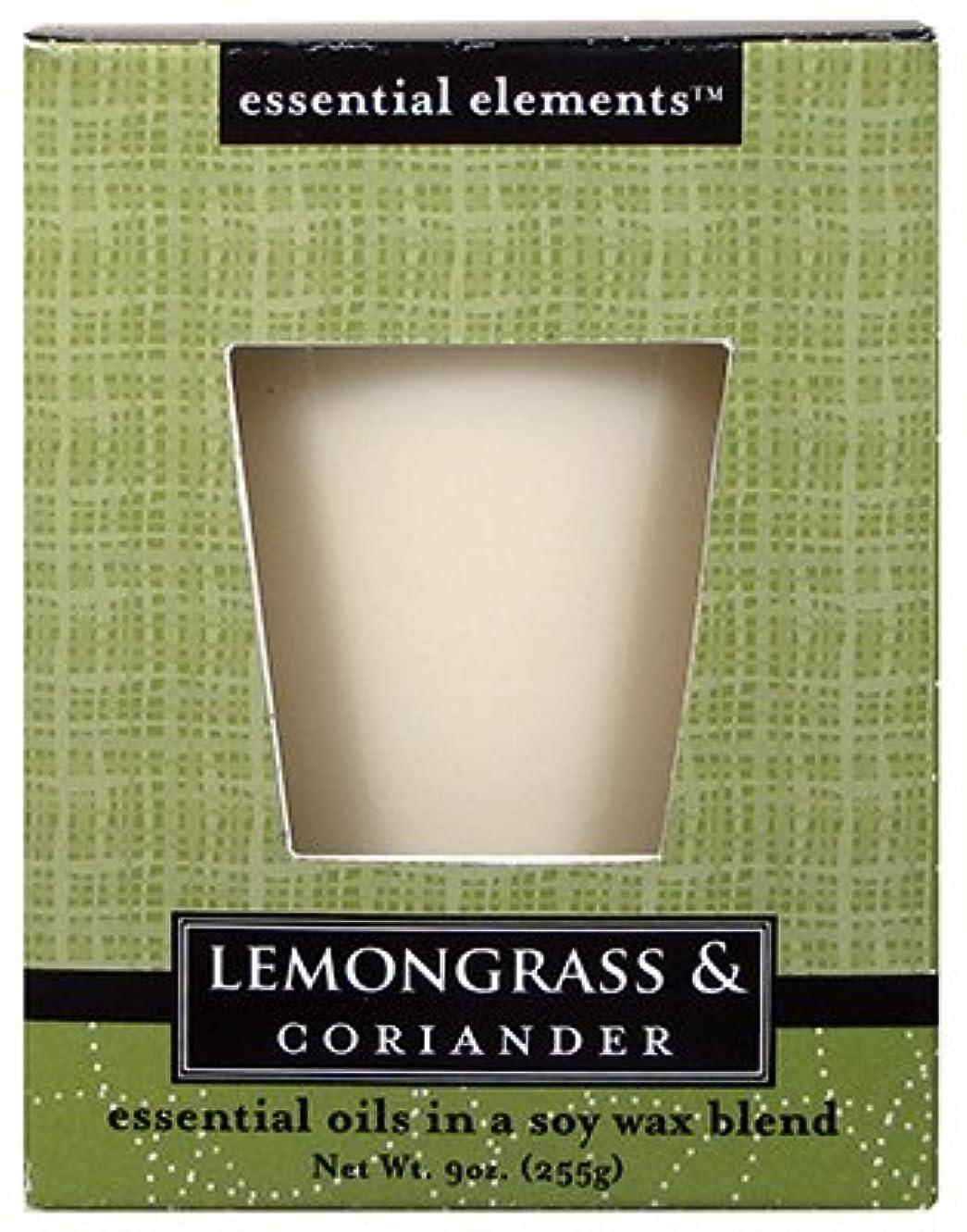 相対的パット出発Candle Lite 1540350 Scented Candle、レモングラス&コリアンダー、255。Jar 3 1540350
