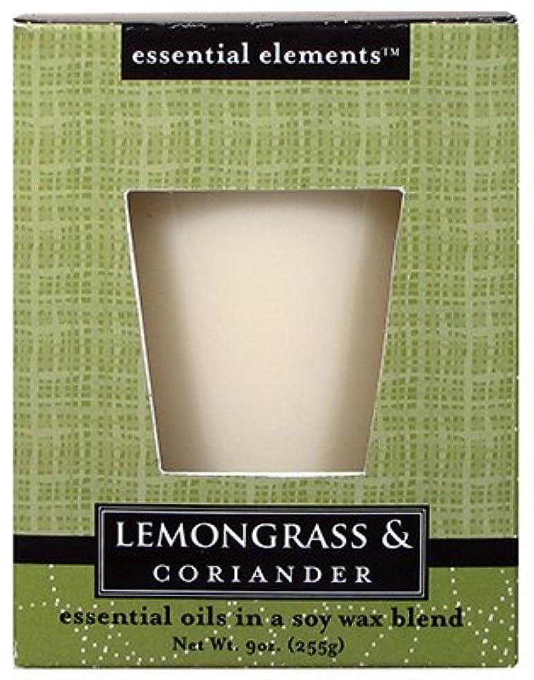 しなやか後ろにできるCandle Lite 1540350 Scented Candle、レモングラス&コリアンダー、255。Jar 3 1540350