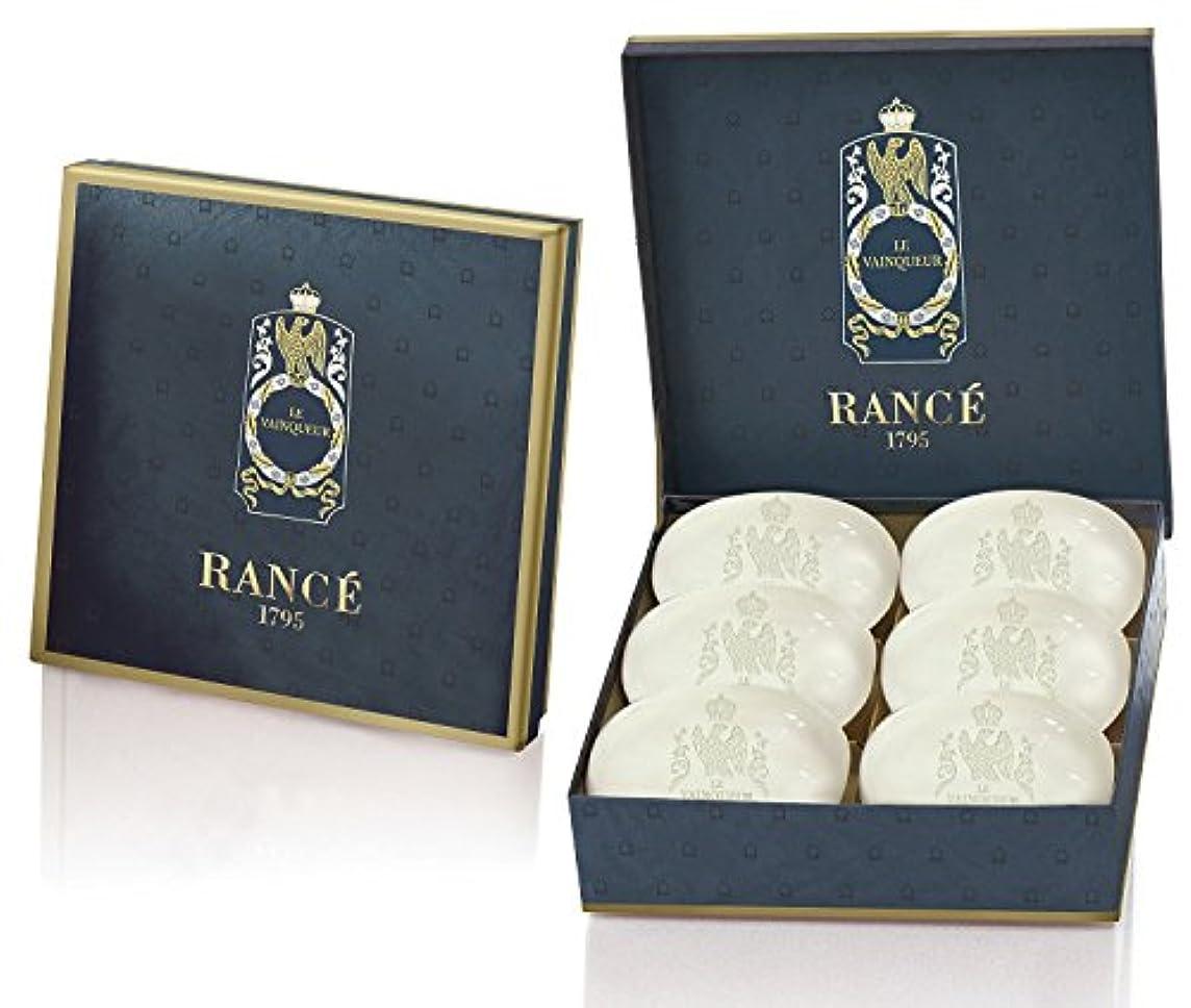 贅沢コテージ床を掃除するRancé Le Vainqueur Soapbox(ランセ ル ヴァンカー ソープボックス)6 x 100g [並行輸入品]