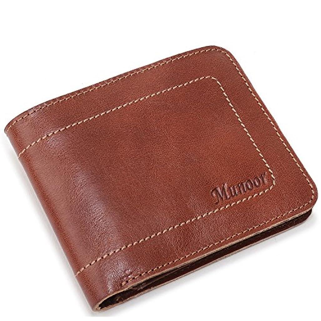隣接する近々カウンターパートMunoor RFID遮断盗難防止カード段?証明書類段の多い本革旅行財布