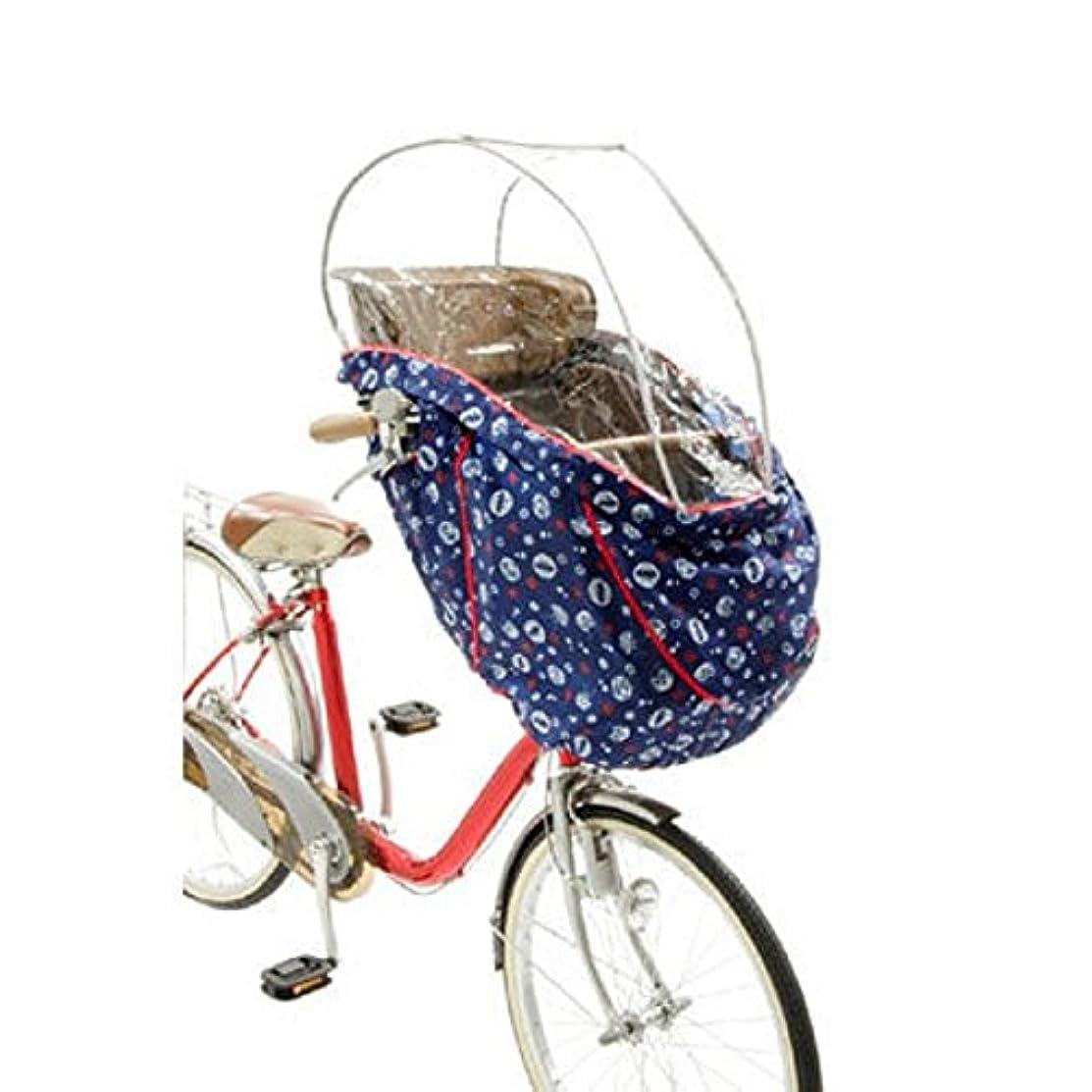 ロゴましい浸すOGK技研 まえ幼児座席用ソフト風防レインカバー RCH-003 アンパンマン仕様 専用袋付き 44351