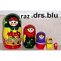 Russian Nesting Doll * 5 Pcs / 3.5 In * drs.blu