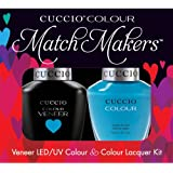 Cuccio MatchMakers Veneer & Lacquer - St. Bart's in a Bottle - 0.43oz/13ml Each