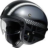 ショウエイ(SHOEI) バイクヘルメット ジェット J・O HAWKER (ホーカー) TC-5 BLACK/SILVER XL (61cm) -