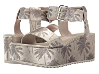 Kennel & Schmenger(ケネルシュメンガー) レディース 女性用 シューズ 靴 サンダル Palm Lux Flatform - Light Gold/Silver UK 7.5 (US Women's 10) M [並行輸入品]