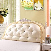 JWWOZ 枕ダブルソファベッド枕綿立体クッション両面ベルト装飾枕投げ枕 (Color : H, Size : 180cm×80cm)