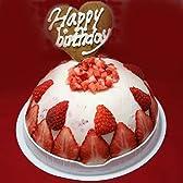 【お誕生日ギフトアイスケーキ】 いちごヨーグルトアイスケーキ