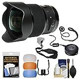 Sigma 20mm F / 1.4DG HSM Artレンズwith USB Dock +スリングストラップ+吹き出し口+キットfor Canon EOSデジタル一眼レフカメラ