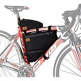 DOPPELGANGER(ドッペルギャンガー) トリプルストレージフレームバッグ 【トップチューブバッグ+フレームバッグ】 大容量:約4.1L バイクパッキング Packsシリーズ DFB447-DP