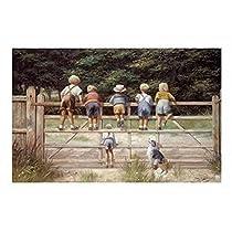 Frederic Leighton – ジェイムズ·ジョイスのユリシーズからナウシカ ファインアート プリント (43.18 x 71.12 cm)