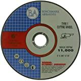 6 x .045 x 7/8 T1 Premium Thin Cut-Off Wheel Metal & Stainless Steel - 25 pack