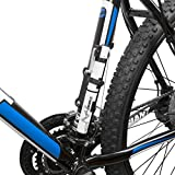 AiraceUSA 【全5色】自転車用ミニポンプ コンパクト携帯ポンプ 空気入れ 仏式/米式/英式バルブに対応 台湾製 (ホワイト)