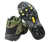JX-SHOPPU 路面 凍結 の 転倒防止 簡単装着 5本爪タイプ スノーアイススパイク 通勤 通学に男女兼用 かんじき
