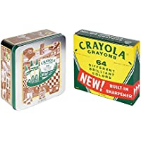 Crayola 60th Anniversary 64 Countクレヨンセットwith Collectible Tin , Amazon Exclusive