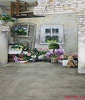 ウェディング花部屋背景写真背景幕レンガProps for Photo Studio