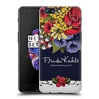 Official Frida Kahlo ブルーム レッド・フローラル ハードバックケース OnePlus 5