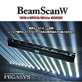 LED舞台照明ムービングスキャン PEGASYS BeamScan® W (ホワイト仕様)