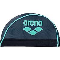 arena(アリーナ) スイムキャップ  メッシュキャップ  Lサイズ ARN-6414 ブラック×Fブルー(BFBU)