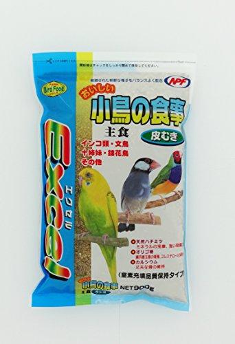 ナチュラルペットフーズ エクセル おいしい小鳥の食事 皮むき 900g