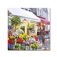 Flower Shop by the Macneil Studio、14x 14インチキャンバス壁アート