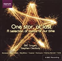 One Star at Last: Selection of Carols of Our Time by HOLTEN / MARTLAND / WEIR / BINGHA (2005-11-29)