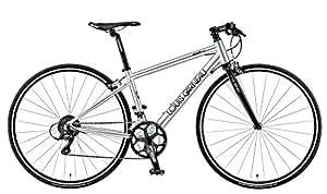 LOUIS GARNEAU(ルイガノ)  クロスバイク フラットバーロード LGS-RSR3 550mm 2015年モデル シルバー 15LG-R3-08
