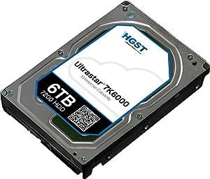 HGST(エイチ・ジー・エス・ティー) Ultrastar 7K6000 3.5inch 6TB 128MBキャッシュ 7200rpm HUS726060ALE610