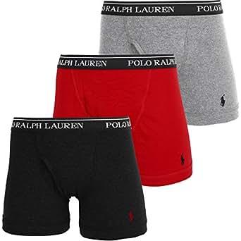 (ポロラルフローレン) POLO RALPH LAUREN ボクサーパンツ メンズ 【3枚組セット】 [並行輸入品]