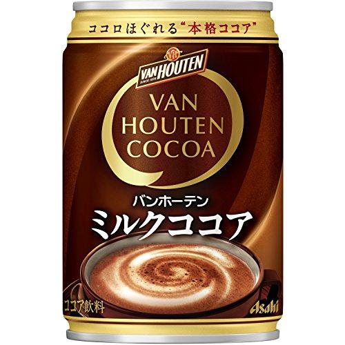 片岡物産 バンホーテン ミルクココア 缶 275×24