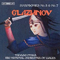 グラズノフ:交響曲第5番変ロ長調 Op.55 交響曲第7番ヘ長調 Op.77 [Import](Glazunov: Symphonies Nos 5 & 7)
