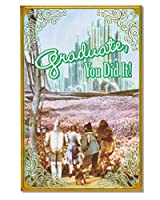 (The Wizard of Oz) - American Greetings The Wizard of Oz Graduation Card with Foil