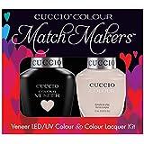 Cuccio MatchMakers Veneer & Lacquer - Pier Pressure - 0.43oz / 13ml Each