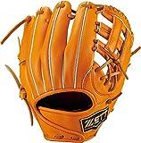 ZETT(ゼット) 野球 硬式 グラブ (グローブ) プロステイタス プレミアム セカンド・ショート 右投用 オレンジ(5600) LH BPROG14P
