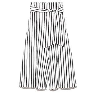 [ミラオーウェン]ハイウエストスカート見えガウチョ 09WFP181163 ウィメンズ STRIPE 日本 1-(日本サイズ9 号相当)