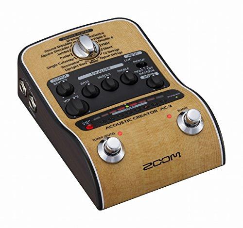 ZOOM / AC-2 Acoustic Creator ズーム アコースティックギター用プリアンプ