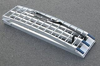 キジマ(Kijima) トランポ用ラダーレール メタルフィールド  2100mm 折り畳み Z9-22-005