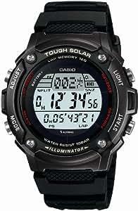[カシオ]CASIO 腕時計 スポーツギア LAP MEMORY 120 ソーラー W-S200H-1BJF メンズ